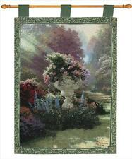 Garden of Hope Tapestry Wall Hanging ~ Thomas Kinkade