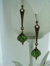 VINTAGE STYLE DANGLE DROP EARRINGS STEAMPUNK Deco