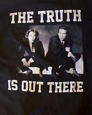 """El X-Files """"Juventud Crew"""" Para Hombre Sudadera Con Capucha Negra-Tamaño Pequeño-la verdad está ahí fuera"""