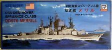 Pit-Road 44: USS Destroyer DD976 Merrill, Wasserlinienmodell 1/700, N E U & OVP