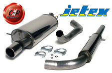 VW Golf Mk4 1.8 Turbo Anniversary Stainless Jetex Exhaust System 41SH09R 02 On