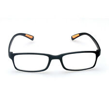 1PC schwarz Unisex nützlich Harzlinse Licht Vision Care Lesebrille 1,5 bis 3,0