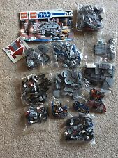 LEGO 7675 STAR WARS AT-TE Walker 799 pcs NO BOX Sealed BAGS RETIRED Hard to find