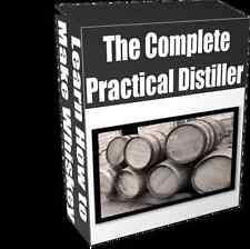 The Practical Distiller - Learn How to Make Whiskey, Moonshine - PDF ebook on CD