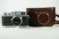 Zorki 3M Rangefinder Camera USSR Russian Leica Copy w/ Jupiter-8 lens