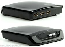 NEW COMPACT 2 WAY TWO PORT HDMI UP TO V1.3 SWITCH, UP TO 1080P, HDCP COMPLIANT