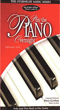 Play Piano Overnight (w/Audio Cassette) [VHS] by