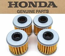 New Genuine Honda 4 Oil Filters CRF150R 250 450 R X TRX450R ER (See Notes) #X67