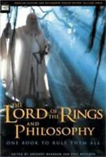 Popular Culture and Philosophy: The Lord of the Rings and Philosophy : One...