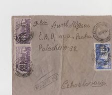 Old Romania Postal Year 1948 From Romania to Czechoslovakia