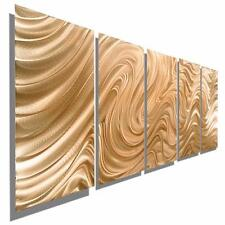 Copper Abstract Metal Wall Art Sculpture, Modern Metal Wall Decor - Jon Allen