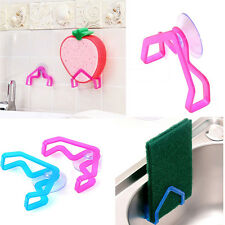 2Pcs Home Accessory Convenient Holder Suction Cup Sink Holder Kitchen Tools