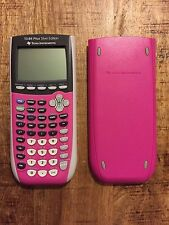 Texas Instruments TI-84 Plus Silver Edition Graphing Calculator *SPECIAL PINK*