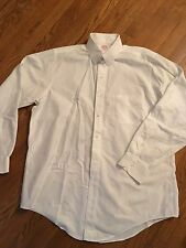 BROOKS BROTHERS MAKERS SHIRT White 15-15.5 33-34 Tab Collar