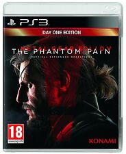 METAL GEAR SOLID V THE PHANTOM PAIN D1 EDITION  PS3 ita new spedito 24h