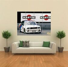 BMW M3 GERMAN TOURING CAR SPORTS RALLY GIANT ART PRINT POSTER WALL G1315