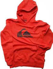 NWT Quiksilver Rooney Hooded Sweatshirt Long Sleeve  Fiery Red  Medium   P06