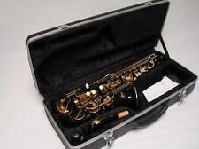 High Quality Black Gold Alto Saxophone Sax - Brand New