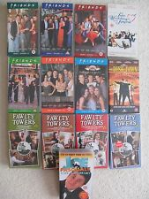 Bundle Of 18 VHS Videos FRIENDS Series 5 FAWLTY TOWERS Set Music & Films  Etc