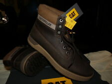 MENS CATERPILLAR RYKER BOOTS IN BROWN UK SIZE 7