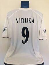 Leeds United VIDUKA 00/02 Home Football Shirt (XL) Soccer Jersey