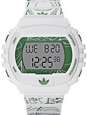 New Adidas Originals NYC Print Chrono Rubber Men Oversize Watch 50x45mm ADH9019
