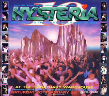 HYSTERIA 10 - 20TH JANUARY 1996 (DRUM N BASS CD COLLECTION)