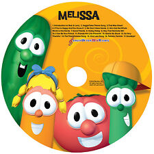 Veggie Tales Personalized Sing-A-Long CD ~ Unique gift that's not in stores