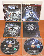 Star Wars El Poder de la Fuerza Collection (1, II) PlayStation 3 PS3, Pal-España