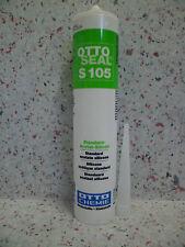 OTTOSEAL S105 310 ml grigio chiaro sanitario silicone silicone-fugue Bagno MHD 4