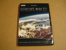 DVD / PLANET EARTH - SAVING SPIECIES - INTO THE WILDERNESS- LIVING TOGETHER- BBC