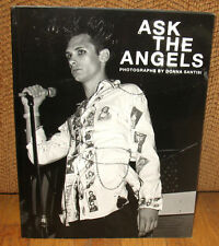 New SIGNED Donna Santisi Ask the Angels Photographs Punk Rock Limited ED