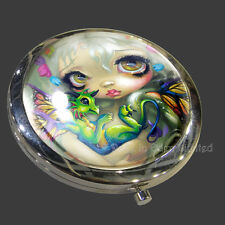 *DARLING DRAGONLING* Strangeling Art Compact Mirror By Jasmine Becket-Griffith