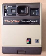 Vintage  Polaroid Party Time Instant Camera By Kodak Made In USA