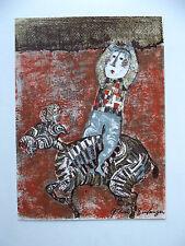 Rodo-Boulanger, Graciela-Lithographie-signée