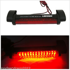 DC12V Red 14LED Automobile Rear Windscreen High Mount Third Stop Lamp Tail Light