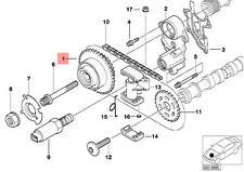 Genuine BMW X5 E53 V8 E52 M62 Vanos Unit Sprocket With Pinion OEM 11367515357