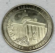 C2495     ALABAMA  SESQUICENTELLAL     MEDAL,   STATE CAPITOL   1969