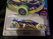 HW HOT WHEELS 2016 HW GLOW WHEELS #9/10 SPECTYTE HOTWHEELS BLUE/YELLOW VHTF