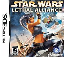 Star Wars Lethal Alliance DS - Very Good - Game Card Only!
