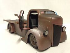 1947 Ford COE-Chopped Cab w/Sliding Bed, 1:24 Diecast, Jada Toys, Brown, Dsp Box