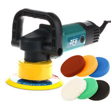230V 900W 6inch Variable Speed Random Orbital Car Polisher Polishing Pad Sets