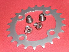 TRUVATIV Chainring (22 tooth) + BOLTS Granny Chain Ring (7 8 9 speed) 4 BOLT