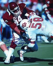 1- BRIAN BOSWORTH OKLAHOMA  SOONERS 8X10 REPRINT AUTO PHOTO