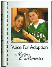 *WASHINGTON DC 2005 VOICE FOR ADOPTION VFA *ETHNIC COOK BOOK *RECIPES & MEMORIES