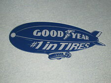 """Goodyear Blimp #1 in Tires 16"""" Sign Man Cave Dragster Garage Art"""