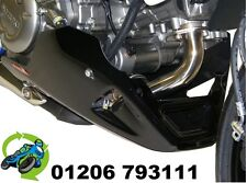 NEW POWERBRONZE BELLY PAN IN BLACK FITS SUZUKI SFV650 SFV 650 GLADIUS UPTO 2014