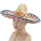 SOMBRERO MEXICAN STRAW HAT ADULT FANCY DRESS PARTY ACCESSORY