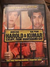 Harold and Kumar Escape from Guantanamo Bay DVD Unrated Edition theatrical