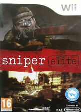 WII-SNIPER ELITE WII EN GAME NEW